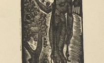 В.Э.Вильковиская. Ева. 1925. Бумага, ксилография. Из собрания ГМИИ РТ